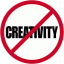 No Creativity